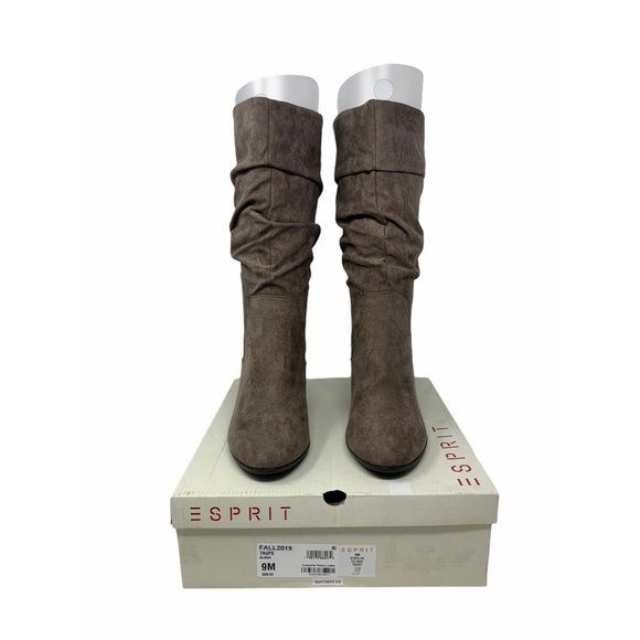Esprit Oliana Taupe Boots Size 9M
